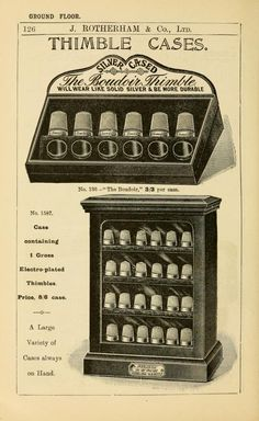 Rotherham & Co., Ltd Thimble Cases