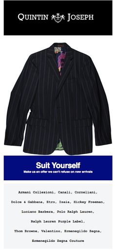 Quintin Joseph - A Man's Guide: Suit Yourself