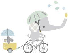 Lilipinso XL Wandtattoo 'Elefant auf Fahrrad' grau/blau 66cm - im Fantasyroom Shop online bestellen oder im Ladengeschäft in Lörrach kaufen. Besuchen Sie uns!