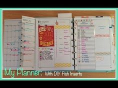 A closer look at my planner and in particular the daily pages. In this video I am using a Martha Stewart Discbound planner with DIYFish inserts.