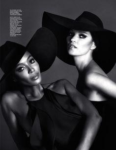 Naomi & Kate by Mert & Marcus