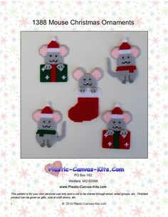 Your place to buy and sell all things handmade Plastic Canvas Ornaments, Plastic Canvas Christmas, Plastic Canvas Crafts, Xmas Ornaments, Plastic Canvas Patterns, Christmas Time, Christmas Ideas, Holiday Crafts, Crafts To Make