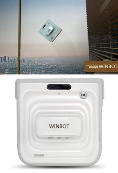 The Winbot will clean your windows for you!