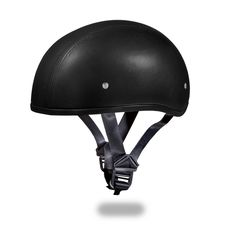 2464ca9cff7 D.o.t. daytona skull cap- leather covered w o visor. Dot Motorcycle HelmetsRiding  ...
