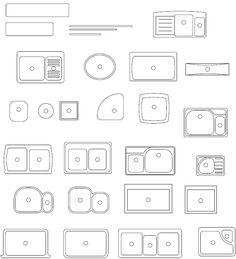 ... - AutoCAD Block of Shower - Plumbing CAD for bathroom & kitchen