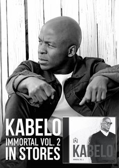 """Kabelo Mabalane's """"Immortal Vol is in stores NOW! Get yourself a copy! I Love Music, Dream Team, Activities, My Love, Movies, Movie Posters, Fictional Characters, Films, Film Poster"""