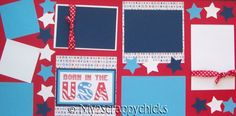 4th of July scrapbook