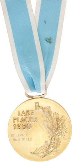 "1980 U.S. Hockey ""Miracle on Ice"" Olympic Gold Medal Presented to  Mark Wells."