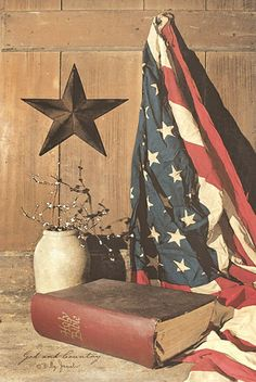 God and Country by artist Billy Jacobs
