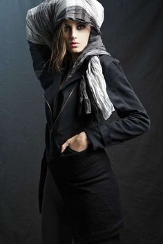Fringe Gunmetal Fashions - The Mandinka FW11/12 Campaign Carries a Street Cred Confidence (GALLERY)