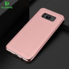 FLOVEME Luxury Phone Cases For Samsung S8 Galaxy Note 8 S7 Edge Red 3in1 Armor Back Cover For Galaxy j5 j7 Prime Case Capa Coque