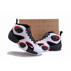 Nice Nike Flight One NRG Men White Black Red Basketball Shoes 1004 For $70.00 Go To: http://www.cheapkobeshoesmart.com