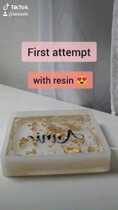 Diy Crafts For Home Decor, Diy Crafts Hacks, Diy Crafts For Gifts, Diy Arts And Crafts, Epoxy Resin Art, Diy Resin Art, Diy Resin Crafts, Diy Resin Projects, Resin Tutorial