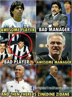 """Zinedine Zidane """