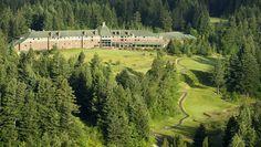 Welcome to Skamania Lodge + 18 hole golf course. Hood River, Oregon