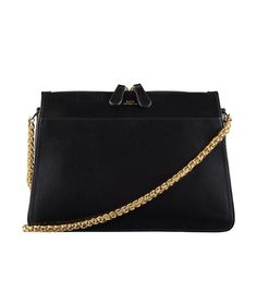 8dd347f1e838 A.P.C. Ella Leather Shoulder Bag Who What Wear, Shopping Lists, Leather  Shoulder Bag,