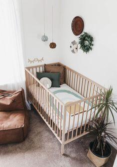 'Rainbow Cot Quilt 'Sage' Bebek Odası – Home Decoration Baby Bedroom, Baby Boy Rooms, Baby Room Decor, Baby Boy Nurseries, Baby Cribs, Nursery Room, Kids Bedroom, Nursery Decor, Ikea Nursery