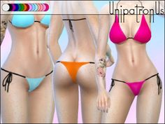 unipatronus' Basic String Bikini bottoms