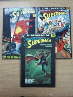 MUERTE DE SUPERMAN PACK (EDICIONES ZINCO - 3 TOMOS) $25