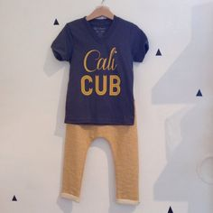 Cali Cub V-neck Tee by Weestructed for Stripes Boutique