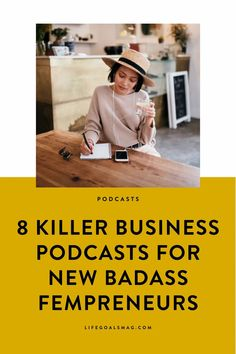 The best career podcasts for ambitious women who want to become entrepreneurs and have a growth mindset. The episodes range from interviews with successful women to how to grow your social media following. I love hearing stories about how people got started and grew their companies. Must-listens. #podcasts Career Change, Career Goals, Life Goals, Creating A Business, Starting Your Own Business, Business Women, Online Business, Starting A Podcast, Free Advice