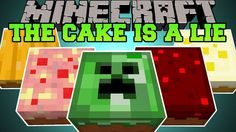 [Popularmmos - Minecraft ] PAT AND JEN IN THE CAKE IS A LIE!!! BURN IT!!