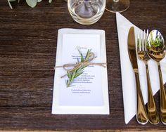 Jak przygotować kartę menu na wesele