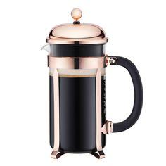 Bodum Chambord Copper French Press, 8 Cup | Sur La Table