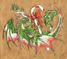 New Year dragon by AlviaAlcedo.deviantart.com on @DeviantArt