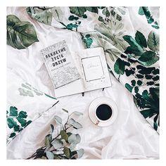 Hej Dzikusy. Co obecnie czytacie? Ja siedzę w gąszczu literek 'Sekretne życie drzew' - i jest mi w nim bardzo dobrze  PS. Tak specjalnie założyłam nowa zielona pościel żeby lepiej mi się czytało te wszystkie zielone historie.  ________ #plant #plants #plantlife #plantsofinstagram #wydawnictwootwarte #bookstagram #bookstagrammer #booklovers #flatlay #flatlaytoday #flatlaypoland #plantsmakespeoplehappy #instaplants #onthebed #onthebedproject