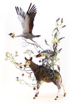 Новая сюрреалистическая керамика Эллен Джьюетт (Jewett) - Все интересное в искусстве и не только.