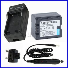 Battery+Charger for PANASONIC VW-VBN130 and HC-X800,HC-X900,HC-X900M,HC-X900MK,HDC-SD800,HDC-SD900,HDC-HS900,HDC-TM900 Camcorder #Affiliate