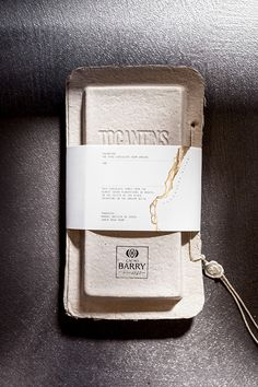 Cacao Barry Tocantins | The World's 50 Best14 packaging on Packaging Design Served