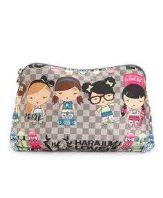 Harajuku Lovers Handbag, Girls Girls Cherry Bomb Cosmetic Case