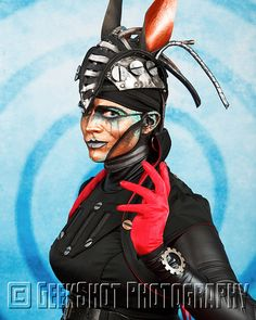 Rabbit from Steam Powered Giraffe. You can find this and many more official SPG prints in the GeekShot store.