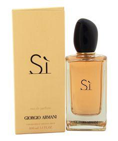Look at this Giorgio Armani Si 3.4-Oz. Eau de Parfum - Women on #zulily today!