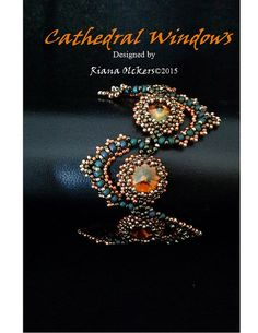 Beading Pattern Right Angle Weave and Peyote Stitch Tutorial