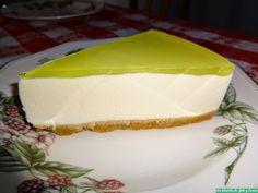 Tarta mousse de limón
