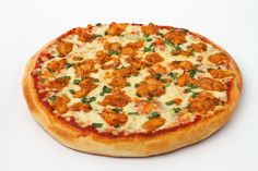 For all our chicken lovers! Presenting Schezwan Chicken pizza - Chicken cooked in a Hot Schezwan Sauce with Spring Onions. Yummy.... yum yum!