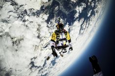 Prepare to be amazed by Fred Fugen and Vince Reffet's 10,000m skydive and swoop over Mont Blanc.