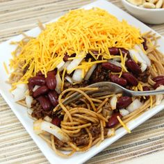 CincinnatiChili...I prefer this over regular spaghetti anyday!
