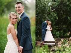 Dan and Ashley's Blue and Gold Wedding at Thunderhawk Golf Club » Two Birds Photography
