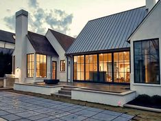 Getting ready for move in day 🏠 Style At Home, Residential Architecture, Architecture Design, Architecture Colleges, Landscape Architecture, Modern Farmhouse Exterior, Dream House Exterior, House Goals, Modern House Design