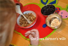 The Iowa Farmer's Wife: Practical Life Activities for Toddlers: Meal Time