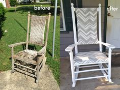 We Can Make Anything: Rocking Chair Redo More american rocking chairs for sale uk Gone are the days when decorating was a one particular-and.