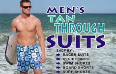 514e65cc4a Finally a mens tan thru suit that ISNT a speedo style! Dapper Man