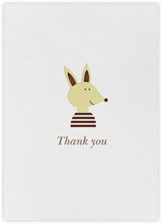 Thank You Pup (Blanca Gomez) - Paperless Post