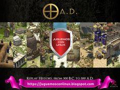 """0 A.D. es un videojuego histórico de estrategia en tiempo real (RTS, real-time strategy) libre y de código abierto que actualmente está siendo desarrollado por Wildfire Games y sus voluntarios.  El juego permite al jugador recrear algunas de las batallas más épicas de la historia antigua. En un principio iba a ser un """"mod"""" para Age of Empires II: The Age of Kings, pero se dio un giro al desarrollo, creando un juego completamente independiente, basado en sus ideas. Age Of Empires, Gnu Linux, Ads, History, Cover, Books, Goal, Strategy Games, Celtic"""