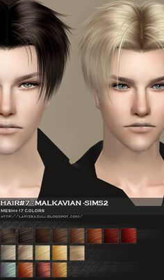 updates for May 2012 Sims Love, The Sims 2, Sims Cc, Sims 3 Male Hair, Sims 2 Hair, Sims 4 Mods, The Sims 4 Cabelos, Mod Hair, Pelo Sims