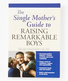 The Single Mother's Guide to Raising Remarkable Boys Paperback #zulily #zulilyfinds